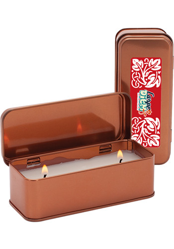 Promotional 5 oz. Copper Scented Rectangular Candles