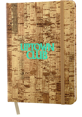 5 x 7 Inch Cork Bound Notebooks | SM3516