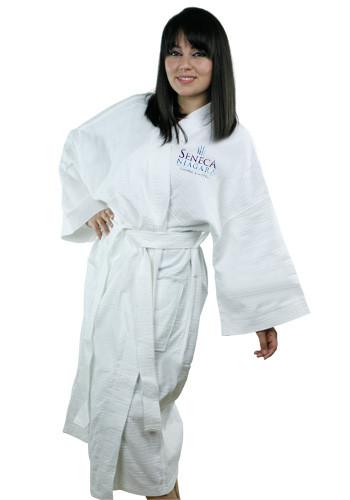 886e91598b Personalized Terry Kimono Waffle Weave Bath Robes