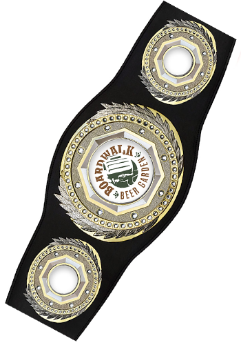 Personalized 52 in. Vibarprint Presidential Championship Belts