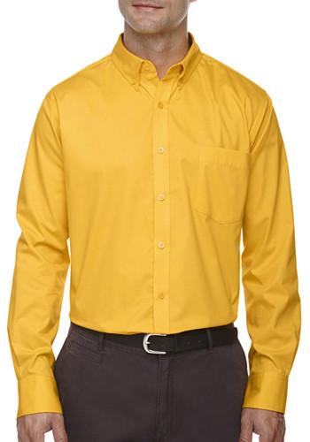 Ash City - Core 365 Men's Operate Long-Sleeve Shirts | 88193
