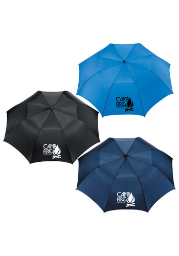Personalized 58-in. Folding Golf Umbrellas