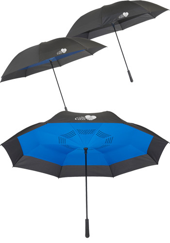 58 In. Inversion Auto Close Golf Umbrellas | LE205091