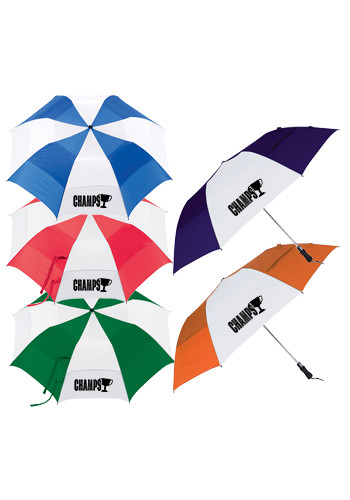 Promotional 58-in. Vented Folding Golf Umbrellas