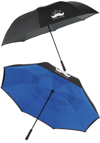 Promotional 58 Inch Inversion Manual Golf Umbrella