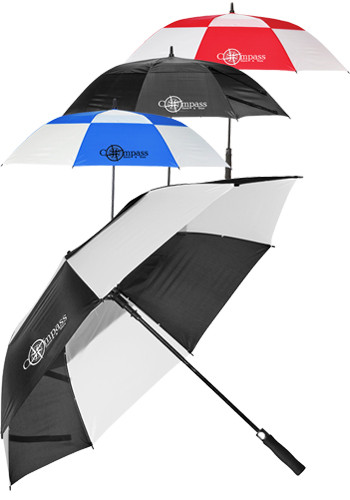58 Inch Windproof Full Fiberglass Vented Umbrellas | SM9558