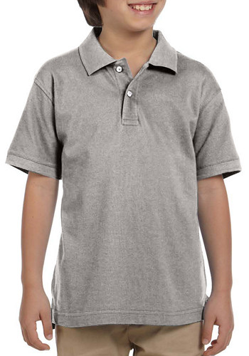 Harriton Youth Pique Short-Sleeve Polo Shirts | M200Y