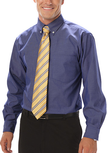 Blue Generation Men's Tall Long Sleeve Dress Shirts | BGEN8214T