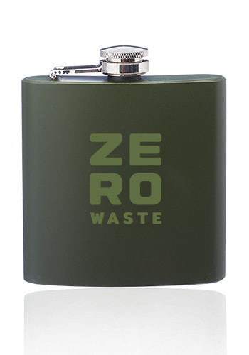 Custom 6 oz. Camo Stainless Steel Hip Flasks