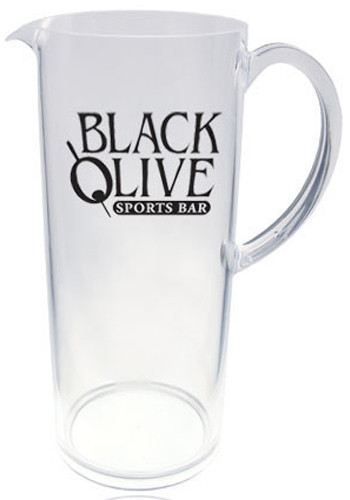 Customized 60 oz. Acrylic Serving Pitchers
