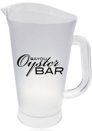 Personalized 60 oz. Frosted Plastic Pitchers