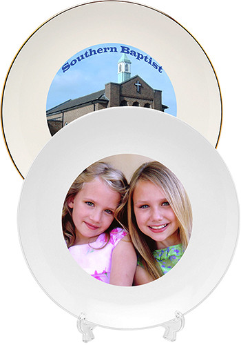 #8P 8 inch Porcelain Commemorative Plates