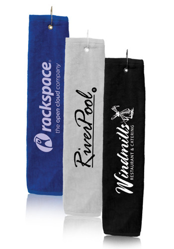Promotional Tri-fold Golf Towel