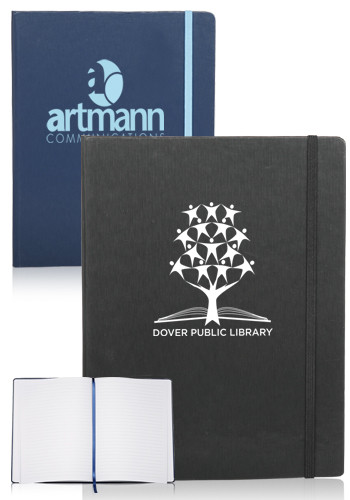 Promotional Hardcover Journals with Close Strap