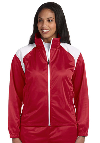 Harriton Ladies Tricot Track Jackets | M390W