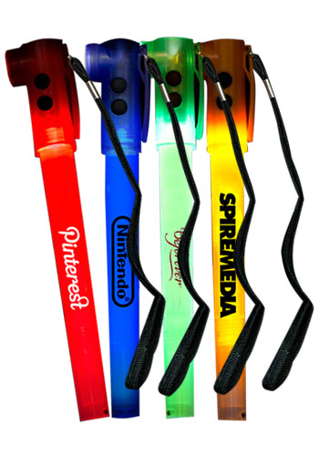 8 inch Light-Up LED Glow Safety Stix | WCFLA7