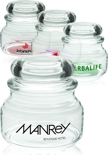 8 oz. ARC Elevation Glass Candy Jars | 23543DL