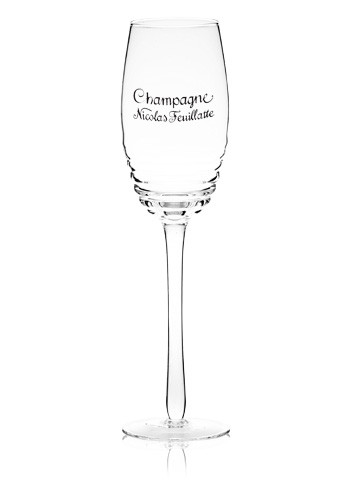 8 oz. Exclusive Hand-Blown Spiral Champagne Glasses