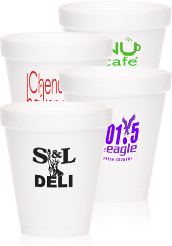 Bulk 8 oz. Tall Styrofoam Coffee