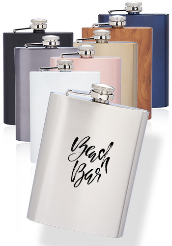 Verano Personalized Stainless Steel Flasks