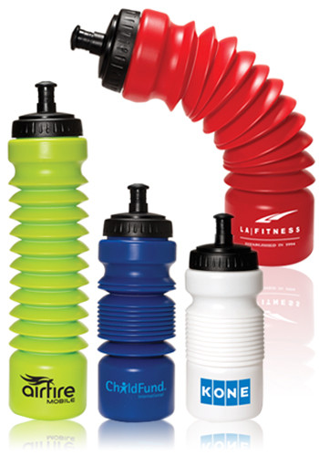 28 oz. Accordion Water Bottles | PL4071