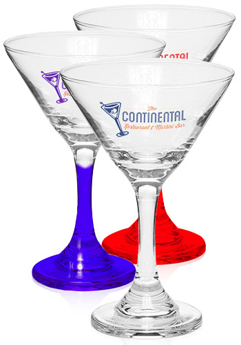 Custom 9.25 oz. Personal Martini Glasses