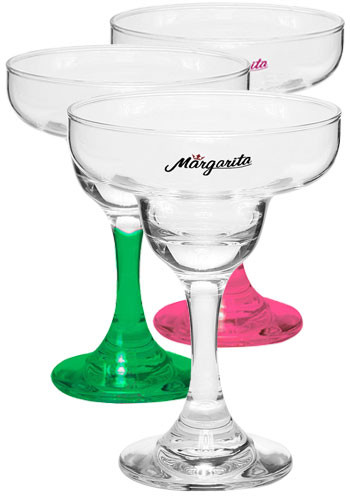 Custom 9 oz. Margarita Glasses