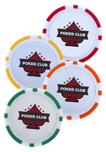 ABS Plastic Poker Chip Ball Markers | PCGPC4CP