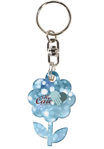 Customized Acrylic Key Chains - Up to 5 sq. inches