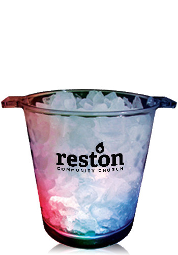 Personalized Acrylic Lighted Ice Buckets