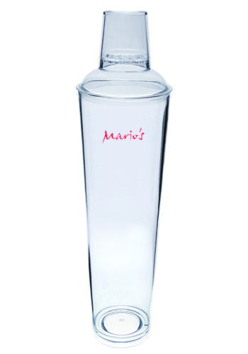 Personalized 32 oz. Tall Plastic Martini Shakers