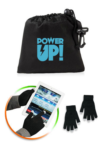 Touchscreen Gloves with Pouch | SM3840