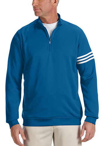 Adidas Golf Mens Climalite 3 Stripes Pullovers | AOA190