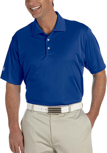 Adidas Golf Mens Climalite Basic Short-Sleeve Polos | AOA130
