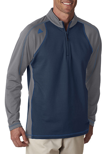 new products a96bc 0f3a8 Adidas Golf Mens Climawarm 3 Stripes Quarter Zip Training Jackets