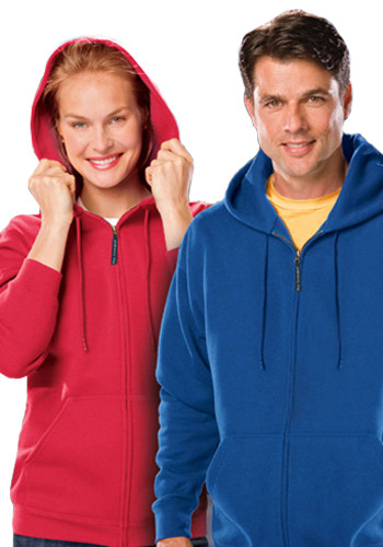 Blue Generation Full Zip Adult Hoodies | BGEN9302Z