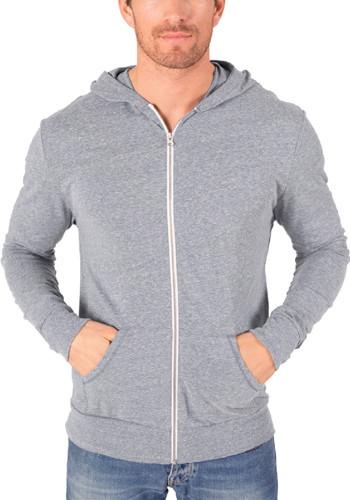Adult Triblend Front Zip Hoodies | BGEN7308