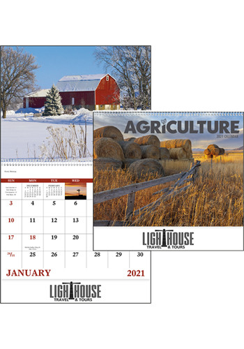 Customized Agriculture - Spiral Calendars
