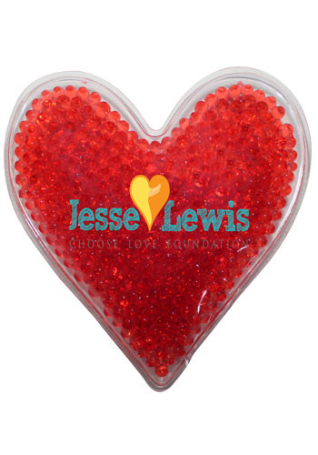 Wholesale Heart Gel Bead Hot/Cold Packs