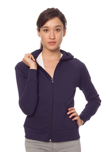 American Apparel Womens California Fleece Zip Hoody
