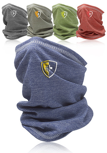 Personalized Anti Microbial Heathered Neck Gaiter and Bandana | HBND006
