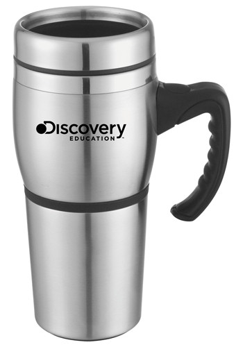 16 oz. Antigua Stainless Steel Travel Mugs | SM6749