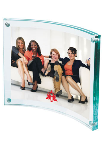 Wholesale Curved Acrylic Picture Frames