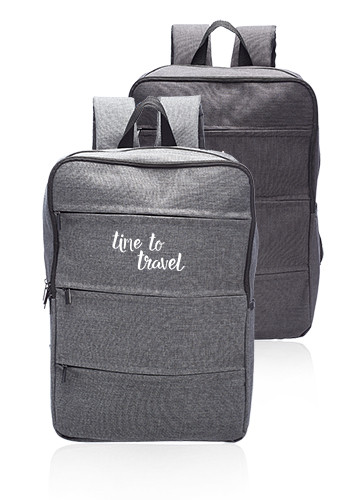 Personalized Around the World Laptop Backpacks