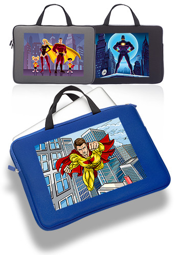 Promotional Aston Neoprene Laptop Sleeves with Handles