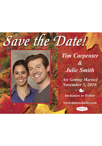 Autumn Save the Date Magnets | MGS2170D
