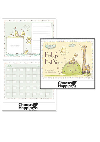 Baby's First Year by Robin Roderick Triumph Calendars | X11276