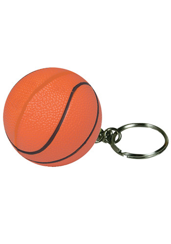 Basketball Stress Ball Keyrings | AL26528