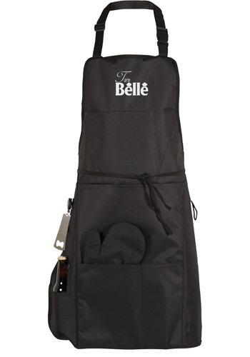 Wholesale BBQ Aprons with Grilling Mitt and Bottle