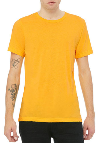 Wholesale Bella Canvas Unisex Triblend Short Sleeve Tees